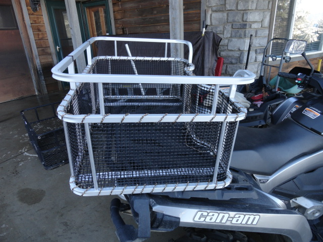 Atv Dog Carrier By Dusty Dawgs Ultralight
